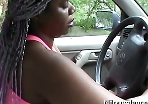 Driving Give The Rain Feeling Horny : Nilou Achtland