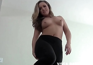 How does my ass part of upon these tight yoga pants JOI