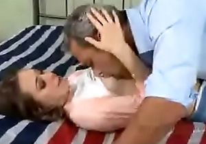 Riley Reid together with daddy PART 2 http://q.gs/EOBLU