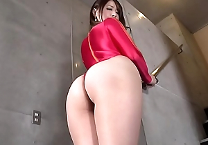 MIU  High-leg leotard red (part1) legs-fetish image video small-minded sound solo