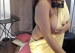 amateur desi wife having it away on livecam