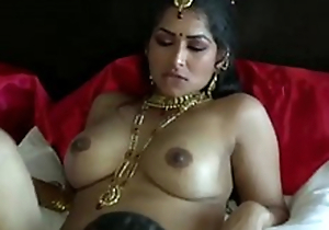 Terribly galvanized jet-black skinned Desi dude prog wet vagina of his GF