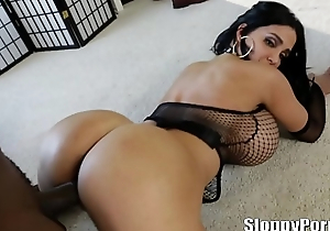 Lexington Steele and Amy Anderssen in the air huge boobs!