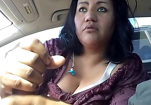 Mature Latina Whore Handjob 22