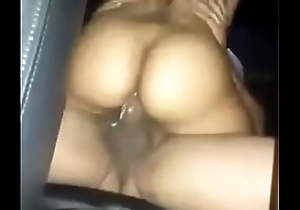 Cheater dick riding in the backseat