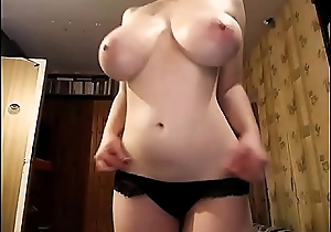 The Most Fabulous Pair of Breast you'_ll see today! Naturally prexy girl strips and masturbates. 100% real giant boobs, incredible bush-leaguer juggs beyond a high-grade chick.